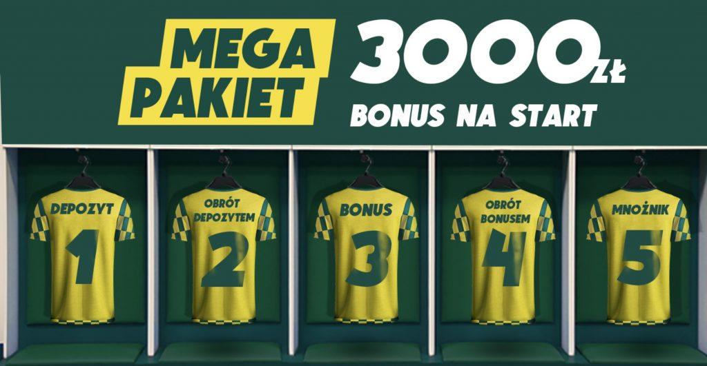 Betfan daje 3000 PLN na start! Bonus powitalny najwyższy w Polsce!